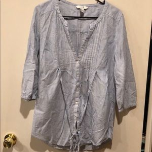 Forever 21 Button Up Tunic